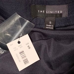 The Limited Skirts - The Limited Green Navy Chevron mini skirt NWT